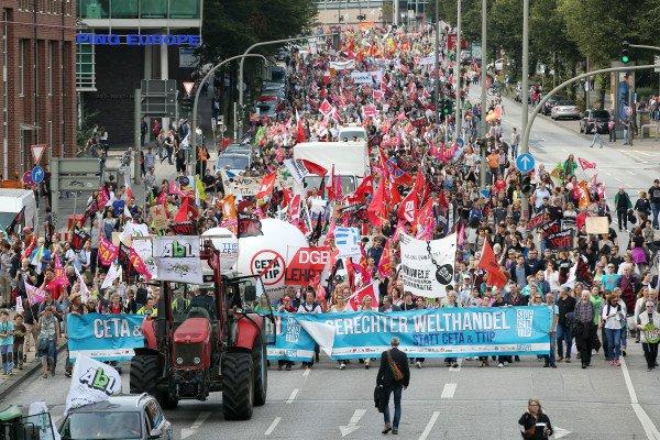 U Njemačkoj prosvjedi protiv TTIP i CETA