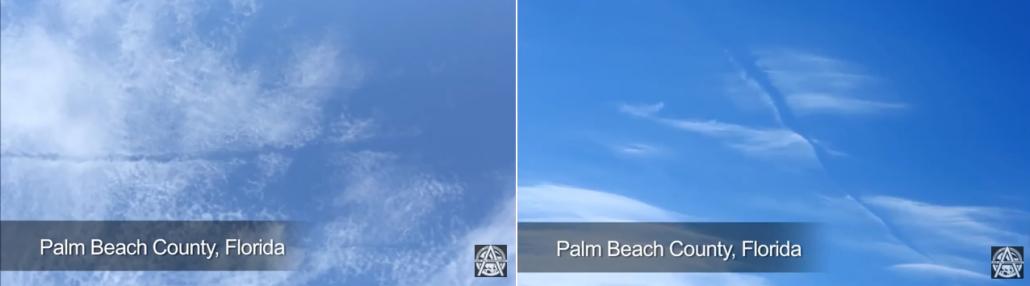 wolken-durchschnitten