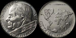 100 Lire Vaticano