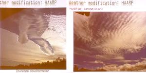 HAARP-Wolkenformationen
